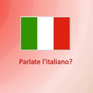 Italy Flag Parlate 300x300