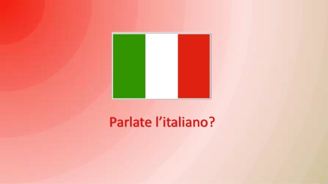 Italy Flag Parlate
