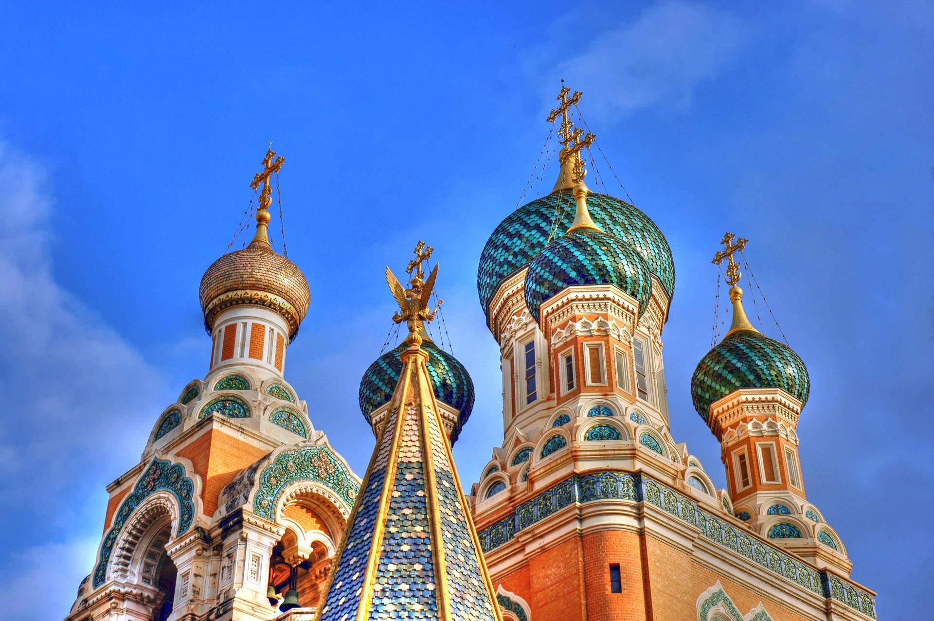 Nice Basilica Russian Basilica Tourist Attraction
